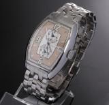 Franck Muller 'Master Banker Havana'. Men's watch, steel, with GMT