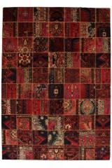 Persisk Patchwork tæppe, 302 x 213 cm.