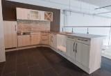 Køkken fra JKE Design hvidpigmenteret bøg (folie)