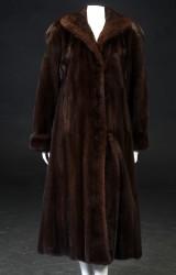 Saga Royal. Mahogany mink coat, approx. size 38
