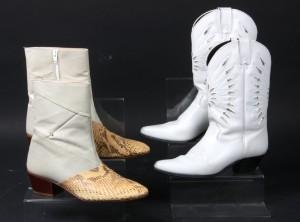 31ad3fd82d9 To par Western læder og slangeskindsstøvler 2 Denne vare er sat til omsalg  under nyt varenummer