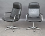Jørgen Kastholm and Preben Fabricius, two chairs model FK 86 (2)