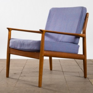Grete Jalk Glostrup Möbelfabrik Sessel Lounge Chair Teak