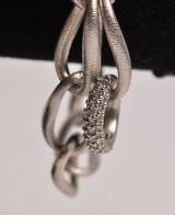 Ole Lynggaard, LOVE bracelet with diamond link