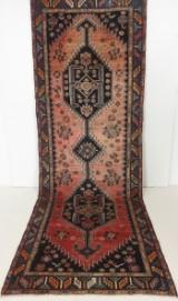 Persisk handknuten matta Zanjan mått 370x126