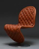 Verner Panton, 'system 123' vintage lounge stol
