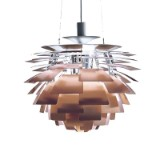 Poul Henningsen. Pendant lamp, PH Artichoke, copper, Ø 60 cm