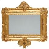 Spegellampett 1800-tal