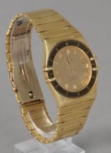 Omega, men's watch, 18 kt gold, Constellation Chronometer Quartz