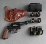 Amerikansk tromlerevolver, kal .38 special, serie nr. V 286866