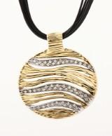 Roberto Coin brillanthalssmykke af 18 kt. guld og hvidguld, i alt ca. 0.36 ct