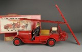 A large French fire engine / ladder truck, André Citroen, c. 1925