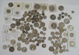 Canada og USA sølvmønter