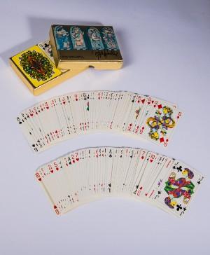 Björn Wiinblad Piatnik Wien Kartenspiel Bridge Rummy Canasta