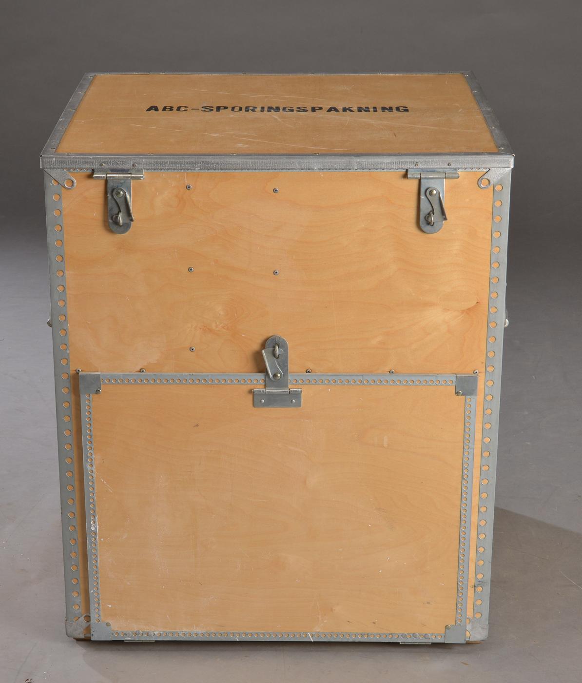 kasse med ruminddeling