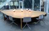 Lievore Altherr Molina, etc conference table, Arper chairs and lamps