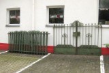 Gartenzaun + zweiflügligem Tor aus Eisen um 1900 (8)