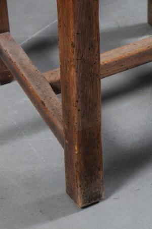 Vare: 3929107 fransk langbord med stole. massivt træ. provence ...