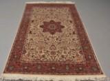 Orientalsk jagttæppe. 230 x 141 cm
