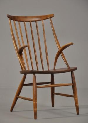 illum wikkelsø stol Illum Wikkelsø: Stol af teak og bøg | Lauritz.com illum wikkelsø stol