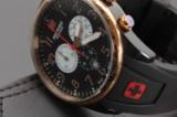 Swiss Military Calibre. Herrearmbåndsur. Swiss made chronograph.