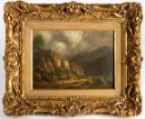 Louis Bélanger, Gemälde, 'Berglandschaft'