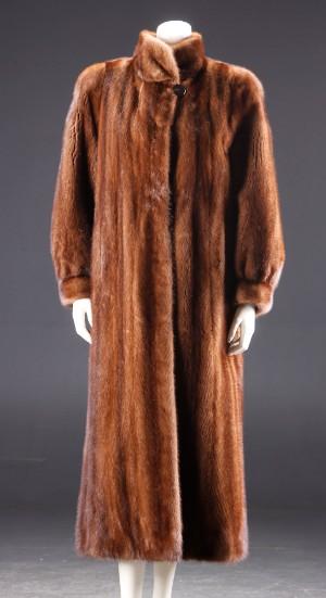 91a776f0 Slutpris för Zarina mink pels. Str. 36.