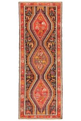 Persisk Sumak kelim, 295x105 cm.