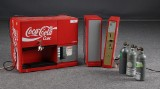 Coca Cola automat med møntindkast