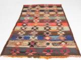 Matta, flatvävd, Harsin-kelim, 270x140 cm