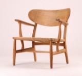 H. J. Wegner. Oak armchair, model CH-22
