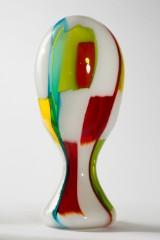 A vase, 'Bandiere', Anzolo Fuga for A.V.E.M., glass