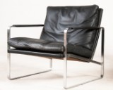 Preben Fabricius & Jørgen Kastholm, one chair model 710 Conversation Chair for Walter Knoll