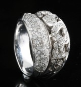 18kt diamond ring approx. 1.00ct