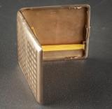 Cigarette box, 14 kt. gold