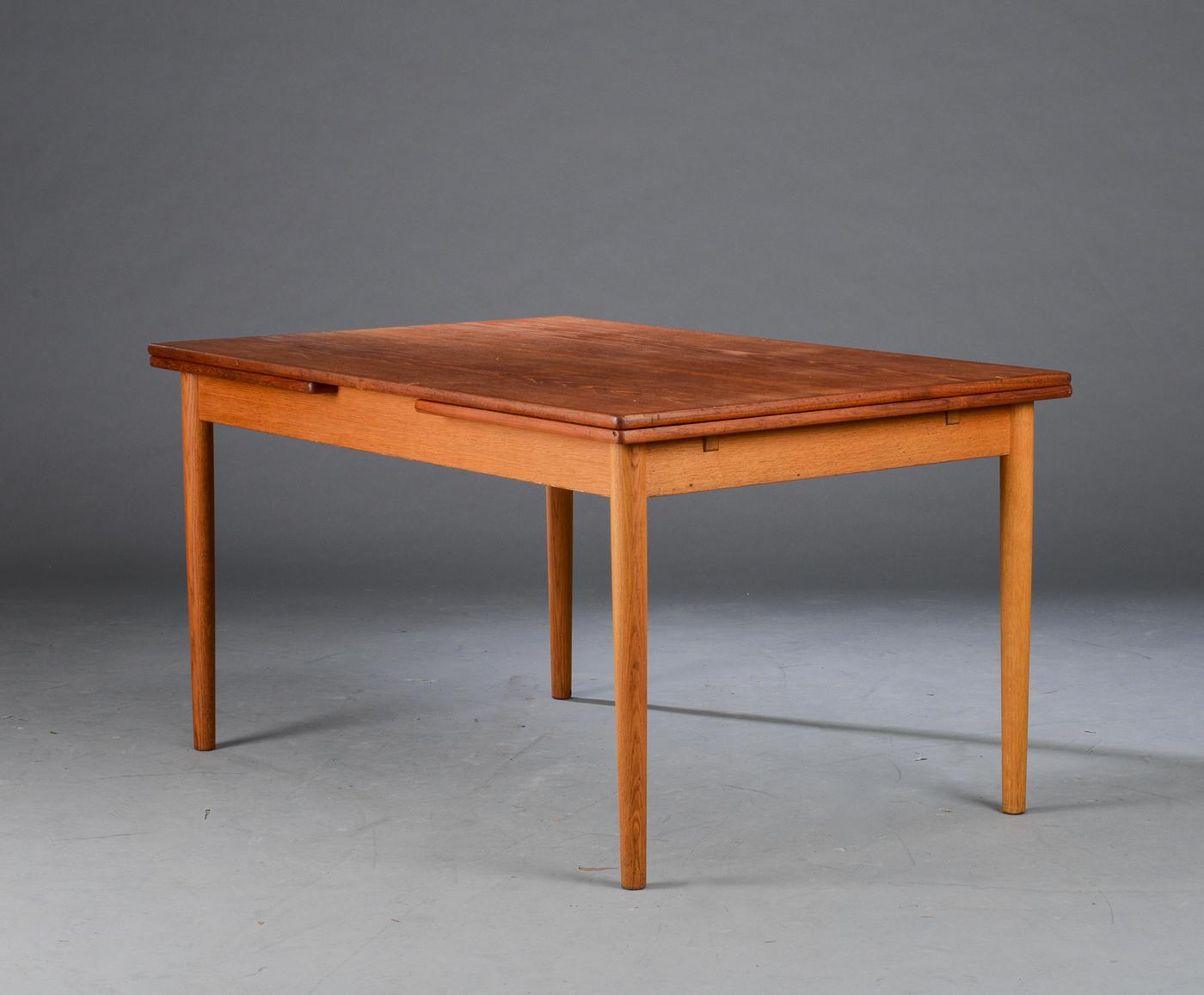 Wegner Spisebord Med Hollandsk Udtræk: H j wegner spisebord at. H ...