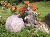 Sculpture, Guan Yin, bluestone, China