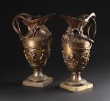 Par store vinkander, bronze (2)