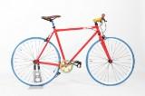 Von Braun. Fixiebike. Rød lakeret