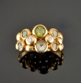 Bubble ring, 18 kt, Ole Lynggaard
