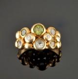 Bubble ring, 18 kt, Ole Lynggaard