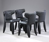 Marcel Wanders for Moooi. Four chairs, model Monster Chair (4)