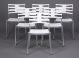 Kasper Salto. Sæt på seks stole, model 'Ice'. (6)