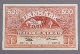 Danmark. 500 kr. 'Plovmand' 1959 - Sieg 127, DOP 136, Pick 41