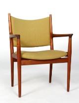 Hans J. Wegner. Teak armchair, model JH513