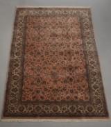 Indisk tæppe, Keschan, 197 x 293 cm