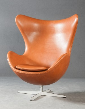 ware 4211359 arne jacobsen the 39 egg chair 39 das ei. Black Bedroom Furniture Sets. Home Design Ideas