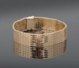Murstens armbånd af 14 kt. guld