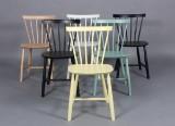 Poul M. Volther. Seks stole i bøg. (6)