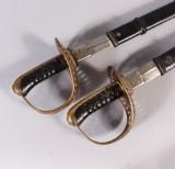 Sablar m/1893 för kavalleriet, Sverige (2)